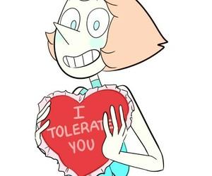 pearl, valentine, and steven universe image
