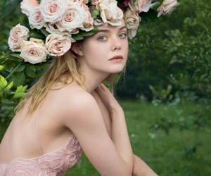 Elle Fanning, beauty, and blonde image