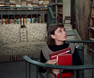 aesthetic, books, and movie image