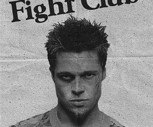 fight club and brad pitt image