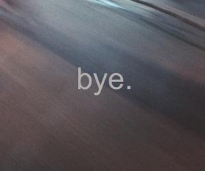 bye, empty, and feelings image