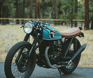 bike, cafe racer, and motorcycle image