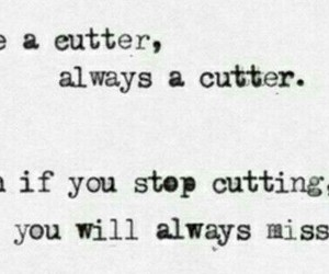 cut, cutter, and quote image