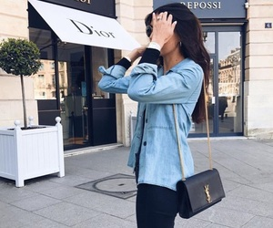brunette, classy, and fashion image
