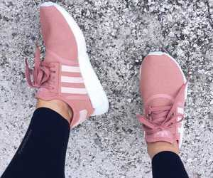 adidas, girls, and sneakers image