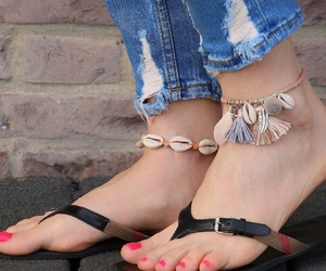 seashell, zomer, and ibiza bracelet image