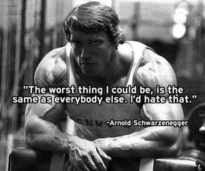 Arnold Schwarzenegger, motivation, and quote image