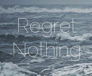 header, regret, and quotes image