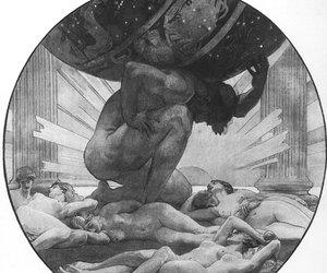 atlas, greek, and myth image