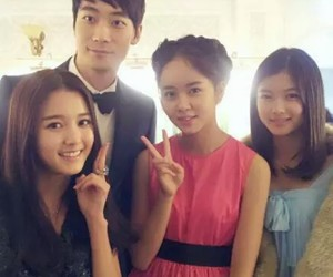korean girl, kim so hyun, and kim yoo jung image
