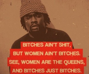 bitch, wale, and quote image