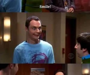 smile, the big bang theory, and leonard image
