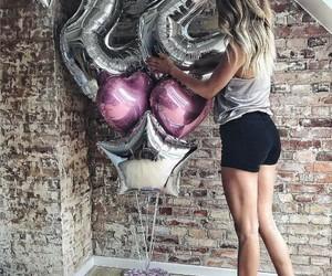 22, balloon, and happy birthday image