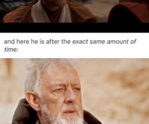 a new hope, ewan mcgregor, and funny image