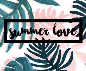 calligraphy, pretty, and summer image
