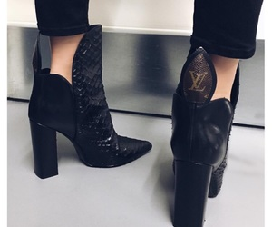 boots, fashion, and Louis Vuitton image