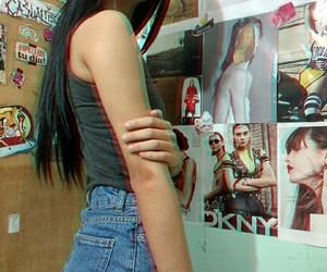 girl tumblr, sad grunge, and punk life 3d photo image
