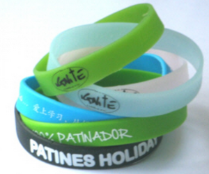wristbands, silicone wristbands, and cheap wristbands image
