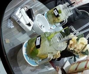 drinks, fresh, and mojitos image