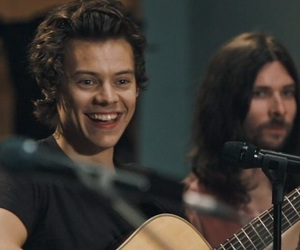 boy and Harry Styles image