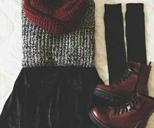 hipster, outfit, and rock image