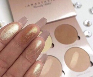 anastasia, highlighter, and love image