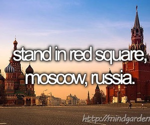 Red Square, russia, and travel image