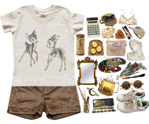 bambi, brown, and casual image