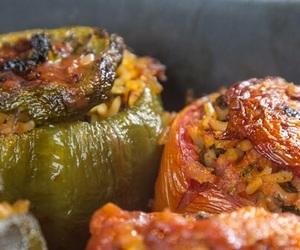 biber, domates, and etli dolma image