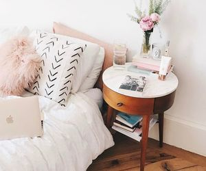 apartment, bedroom, and blogger image