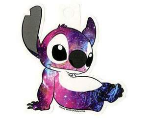 galaxy, stitch, and disney image