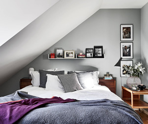 bedroom, interior, and decor image