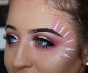 aesthetic, festival, and makeup artist image