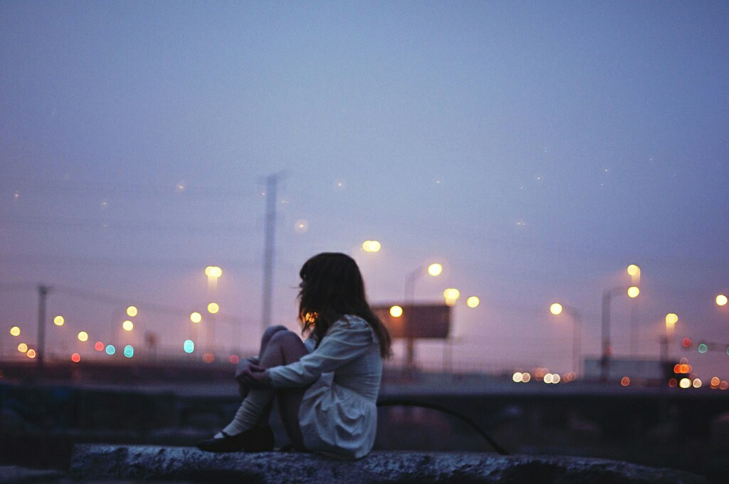 1000+ images about Alone Girl on We Heart It | See more about girl, grunge and tumblr