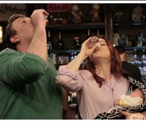 baby, bar, and lily aldrin image