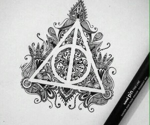 harry potter and drawing image