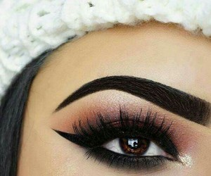 beauty, girl, and brown eyes image