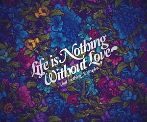 love, life, and quotes image