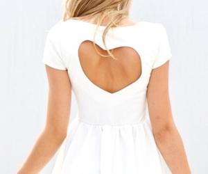 dress, fashion, and heart image