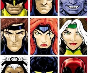 comic book, Marvel, and superhero image