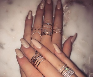 fabulous, natural nails, and fashion image