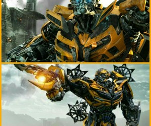 film, transformers, and bumblebee image