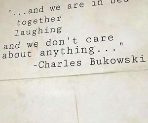 quotes, love, and charles bukowski image