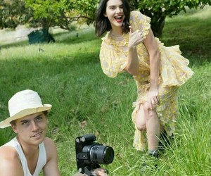kendall jenner, cole sprouse, and beauty image