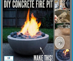 diy projects and outdoor fire pit image