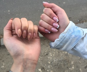 nails, spring, and unghii image