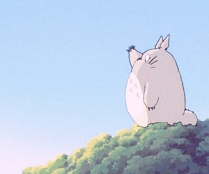 anime, studio ghibli, and totoro image