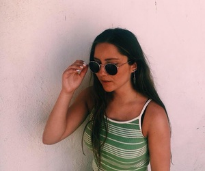 brunette, summer, and summer inspo image