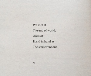 quotes, stars, and book image