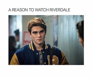 reason, riverdale, and archie andrews image